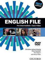 Диск для лазерних систем зчитування English File 3rd Edition Pre-Intermediate: Class DVD