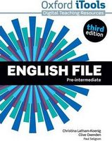 Диск для лазерних систем зчитування English File 3rd Edition Pre-Intermediate: iTools DVD-ROM