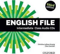Диск для лазерних систем зчитування English File Third Edition Intermediate Class Audio CDs (5)