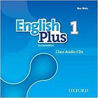 Диск для лазерних систем зчитування English Plus 2E: 1 Class CD (X3)