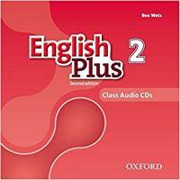 Диск для лазерних систем зчитування English Plus 2E: 2 Class CD (X3)