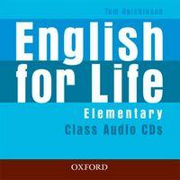Диск для лазерних систем зчитування English for Life Elementary: Class Audio CD (3)
