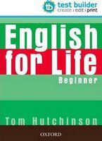 Диск для лазерних систем зчитування English for Life Test Builder CD-ROM