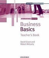 Підручник Business Basics International Edition: Teacher's Book