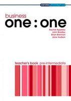 Підручник Business one: one Pre-Intermediate: Teacher's Book