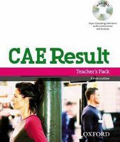 Підручник CAE Result!, New Edition TB Pack with DVD and Dictionaries Booklet