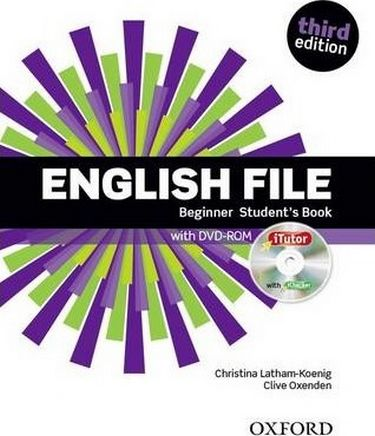 %D0%9F%D1%96%D0%B4%D1%80%D1%83%D1%87%D0%BD%D0%B8%D0%BA+English+File+3rd+Edition+Beginner%3A+Student%27s+Book+%26+iTutor+Pack - фото 1