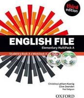 Підручник English File 3rd Edition Elementary: Multipack A