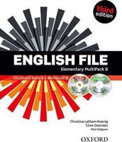 Підручник English File 3rd Edition Elementary: Multipack B