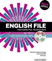 Підручник English File 3rd Edition Intermediate Plus: SB& iTutor&ONL Skills Pk