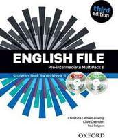 Підручник English File 3rd Edition Pre-Intermediate: Multipack B