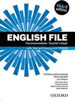 Підручник English File 3rd Edition Pre-Intermediate: Teacher's Book with Test and Assessment CD-ROM