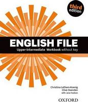 Підручник English File 3rd Edition Upper Intermediate: Workbook without Key