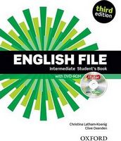 Підручник English File Third Edition Intermediate Student's Book with iTutor Pack
