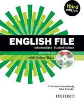 Підручник English File Third Edition Intermediate Student's Book with iTutor and Online Skills Practice Pack