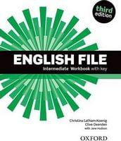 Підручник English File Third Edition Intermediate Workbook with Key