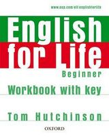 Підручник ENGLISH FOR LIFE BEG WB+K