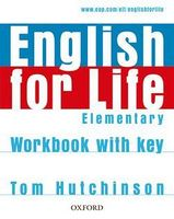 Підручник ENGLISH FOR LIFE ELEM WB+K