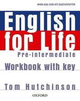 Підручник ENGLISH FOR LIFE P-INT WB+K