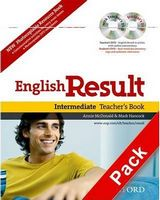 Підручник English Result Intermediate: Teacher's Book with DVD Pack
