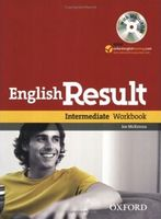 Підручник English Result Intermediate: Workbook with MultiROM Pack