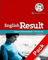 Підручник English Result Upper- Intermediate: Workbook with Answer Booklet and MultiROM Pack