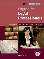 Підручник English for Legal Professionals: Student's Book Pack