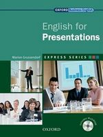 Підручник English for Presentations: Student's Book and MultiROM