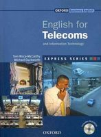 Підручник English for Telecoms: Student's Book and MultiROM Pack