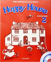 Підручник Happy House 2: Activity Book and MultiROM Pack