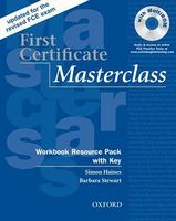 Підручник New First Certificate Masterclass New Edition Workbook Resource Pack with key