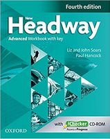 Підручник New Headway 4th Ed Advanced: Workbook with Key and iChecker CD Pack