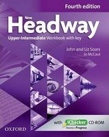 Підручник New Headway 4th Ed Upper-Intermediate: Workbook with Key and iChecker CD Pack