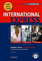 Підручник New International Express Pre-Intermediate: Student's Pack Plus DVD