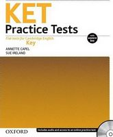 Підручник KET Practice Tests Revised Ed: With Key and Audio CD Pack
