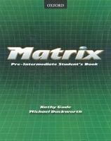 Підручник Matrix pre-intermediate SB