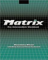 Підручник Matrix pre-intermediate WB