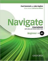 Підручник Navigate Beginner A1 Student's Book with DVD-ROM and OOSP Pack