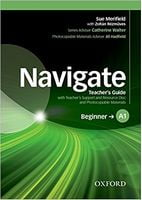 Підручник Navigate Beginner A1 Teachers Book and Teachers Resource Disc Pack