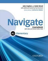 Підручник Navigate Elementary A2 Student's Book with DVD-ROM and OOSP Pack