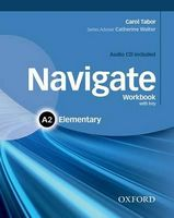 Підручник Navigate Elementary A2 Workbook With Key and CD Pack