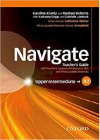 Підручник Navigate Upper-Intermediate B2 Teachers Book and Teachers Resource Disc Pack
