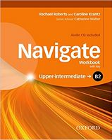 Підручник Navigate Upper-Intermediate B2 Workbook With Key and CD Pack