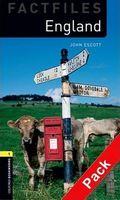 Підручник OBW Factfiles 1: England Audio CD Pack