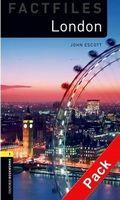 Підручник OBW Factfiles 1: London Audio CD Pack