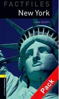 Підручник OBW Factfiles 1: New York Audio CD Pack