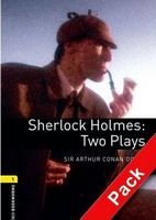 Підручник OBW Playscripts 1: Sherlock Holmes: Two Plays Playscript Audio CD Pack
