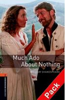 Підручник OBW Playscripts 2: Much Ado About Nothing Playscript Audio CD Pack
