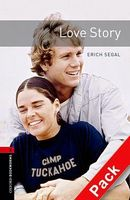 Підручник OBWL 3E Level 3: Love Story Audio CD Pack