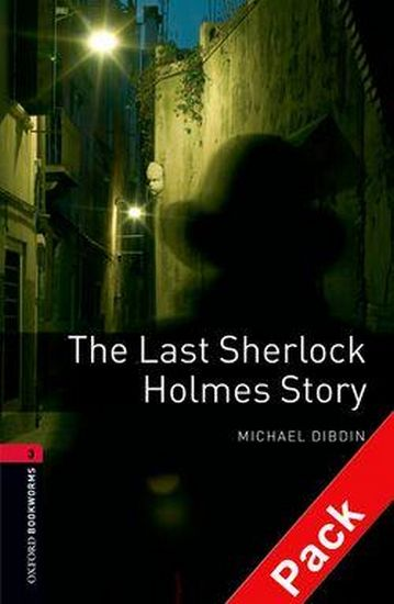 %D0%9F%D1%96%D0%B4%D1%80%D1%83%D1%87%D0%BD%D0%B8%D0%BA+OBWL+3E+Level+3%3A+The+Last+Sherlock+Holmes+Story++Audio+CD+Pack - фото 1